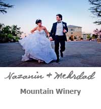 Heather and Brett Wedding Mountain WInery